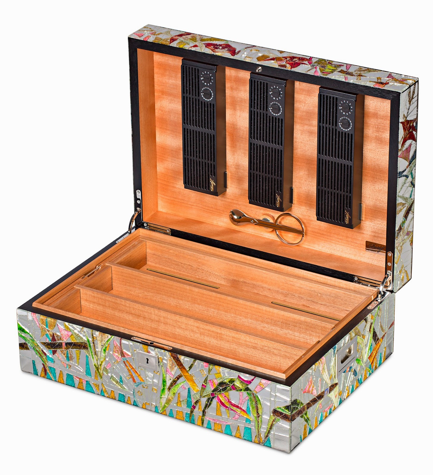 ": Davidoff To Unveil ""The Miami Collection"" Humidors at Art Basel #AE541D"