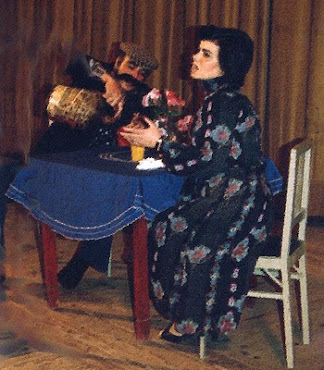 Joaquim Marques fazendo teatro