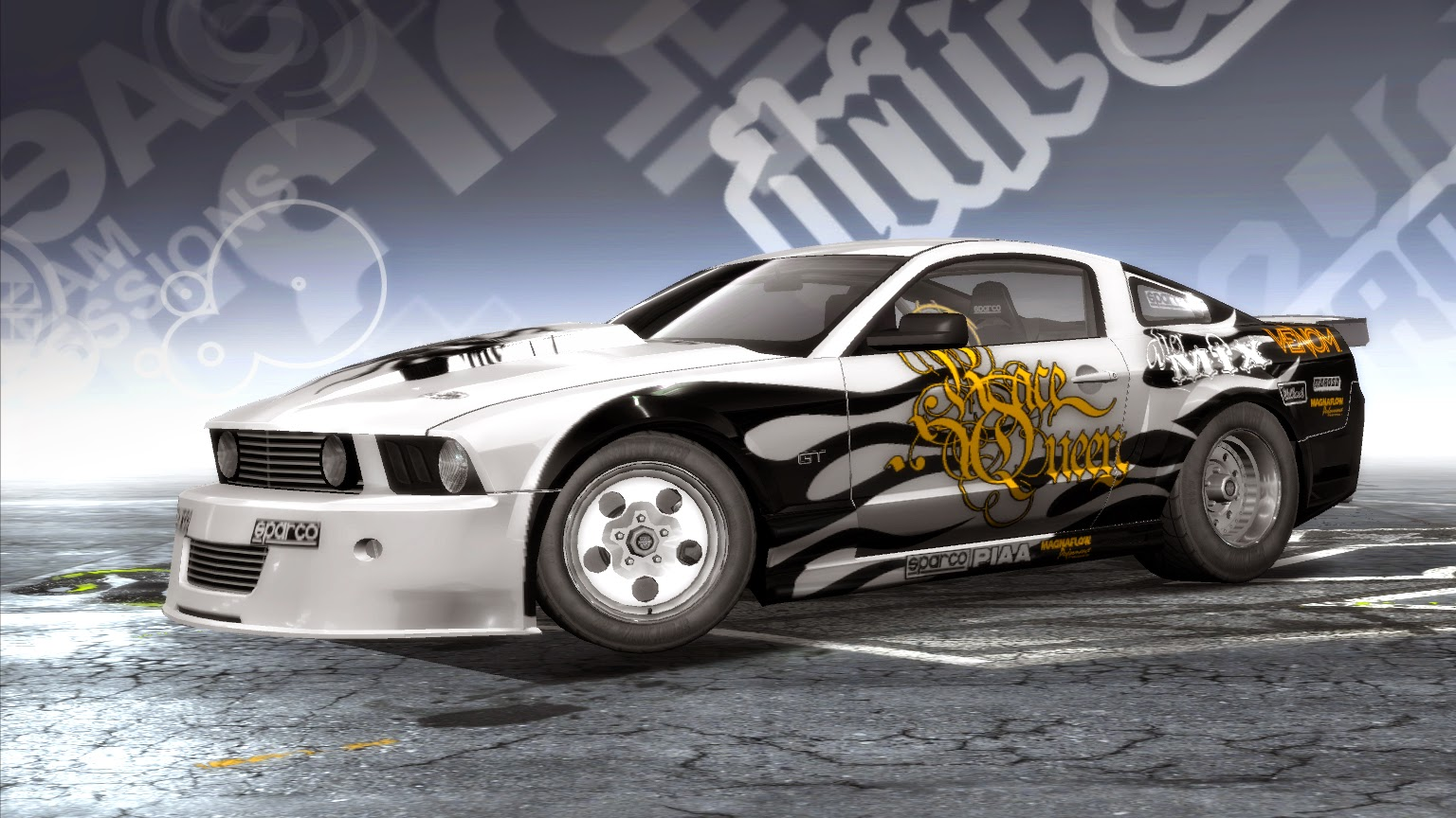 Need for speed pro street drag king