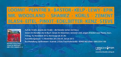 Streetart Ausstellung in München