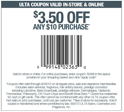 Coupons for ulta beauty supply