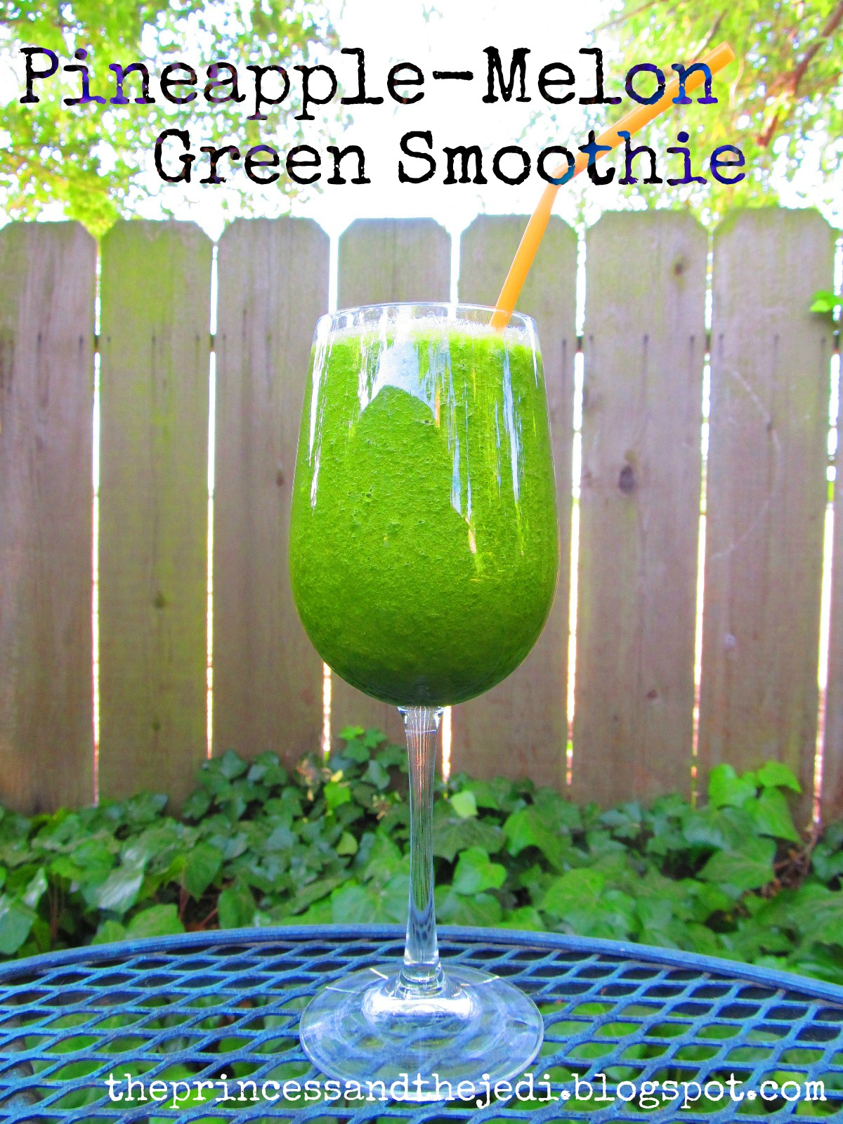 Pineapple-Melon Green Smoothie