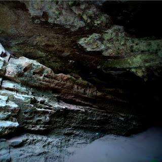 Salão das Estalactites, em Caverna de Caçapava do Sul.