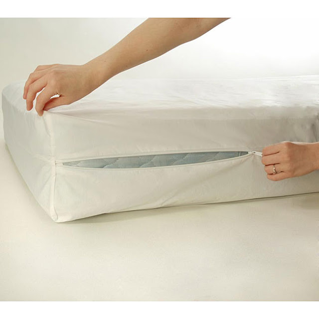 Vinyl Mattress Cover With Zipper Heavy Gauge How do bedbug covers work?