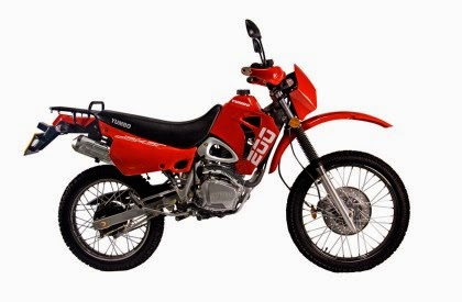 Yumbo motorcycles 200cc