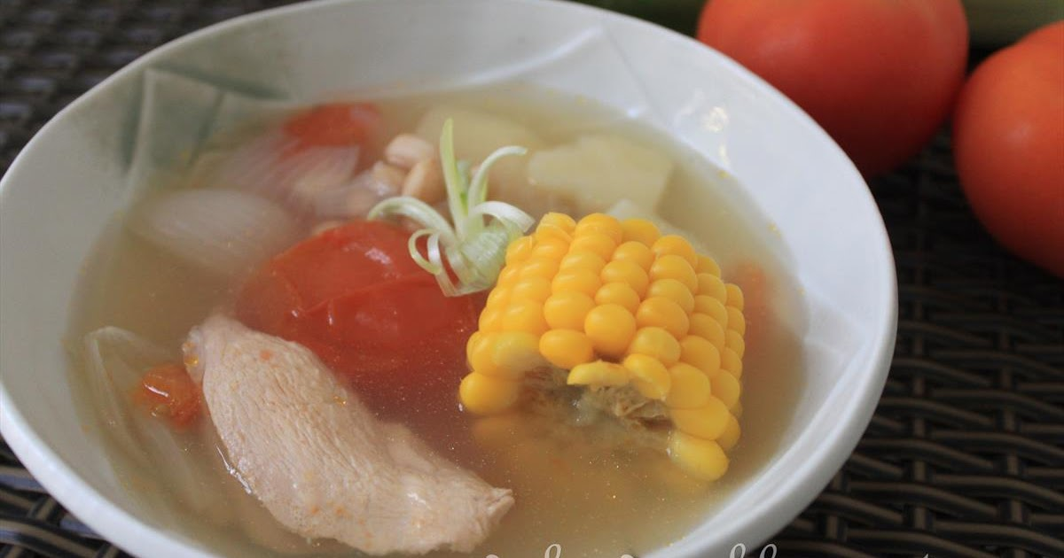 GoodyFoodies: Recipe: Healthy Chinese ABC Soup with Sweet Corn