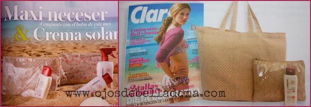 Regalo revista Clara agosto 2013