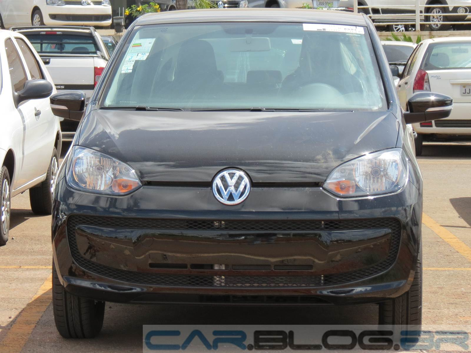 Volkswagen up! Take-up!