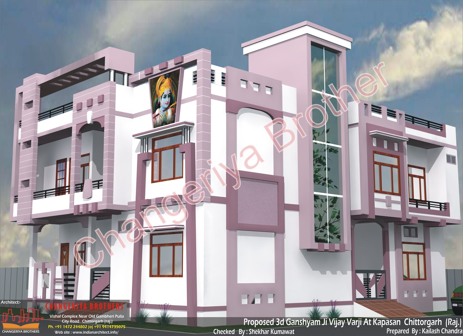 Mr Ganshyam Ji Vijayvargi Royal House 30 39 X 60 39 1800 Sqft