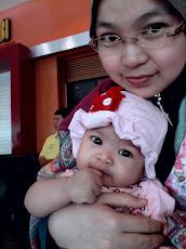 mommy and qayla