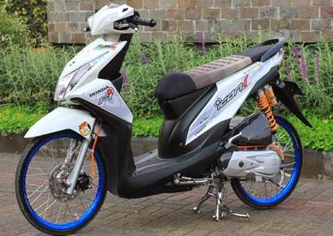 Modifikasi Honda Beat FI Velg 17