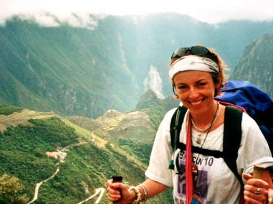 Alyson on the Inca Trail
