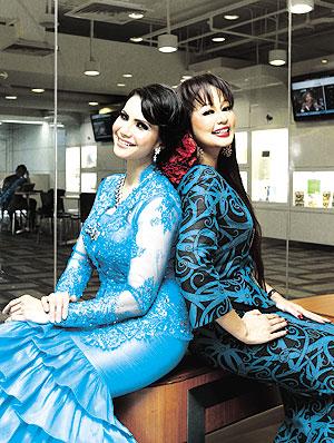 Gambar Rozita Che Wan Seksi Hot Janda Popular Bersama Jasmin Hamid