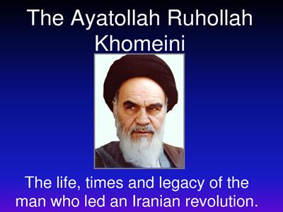tokoh agama iran, ahmadinejad
