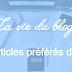 Vos articles préférés - Juin 2015