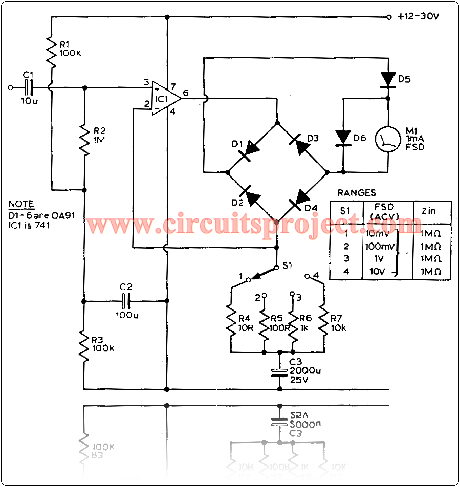 December 2013 Circuit Diagram Circuits Lm3909 Led Flasher Simple 555 One Transistor An Audio Millivoltmeter