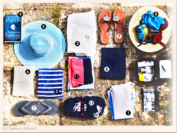 Psynopsis How to Pack for 2 Weeks in the Sun