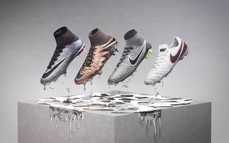 Nike lanza su pack de botines Liquid