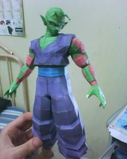 Papercraft Piccolo
