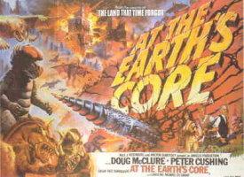 Cartel promocional de «At the Earth's Core»