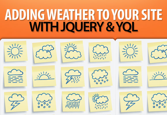 2. Adding Weather to Your Site with jQuery and YQL
