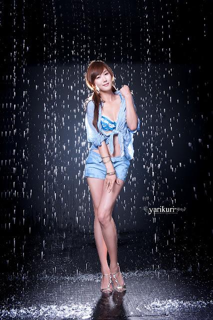 3 Nam Eun Ju in Blue-Very cute asian girl - girlcute4u.blogspot.com
