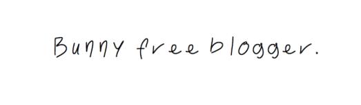 Bunnyfreeblogger