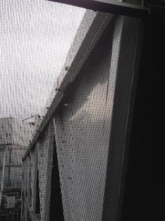Looking through a framed RABScreen