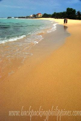 patar white beach bolinao pangasinan