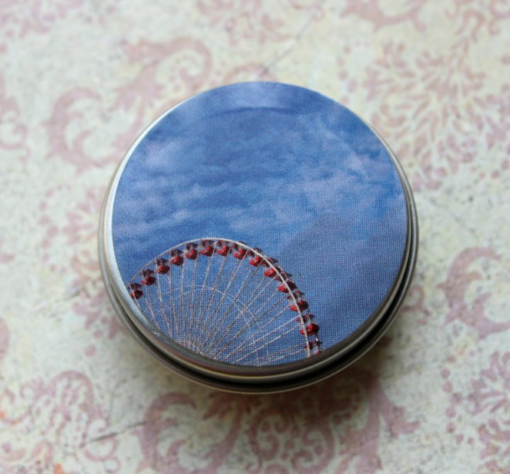 Darling Clandestine solid fragrance Carny Wedding tin
