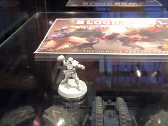 Blood Bowl 2016 board game human miniature