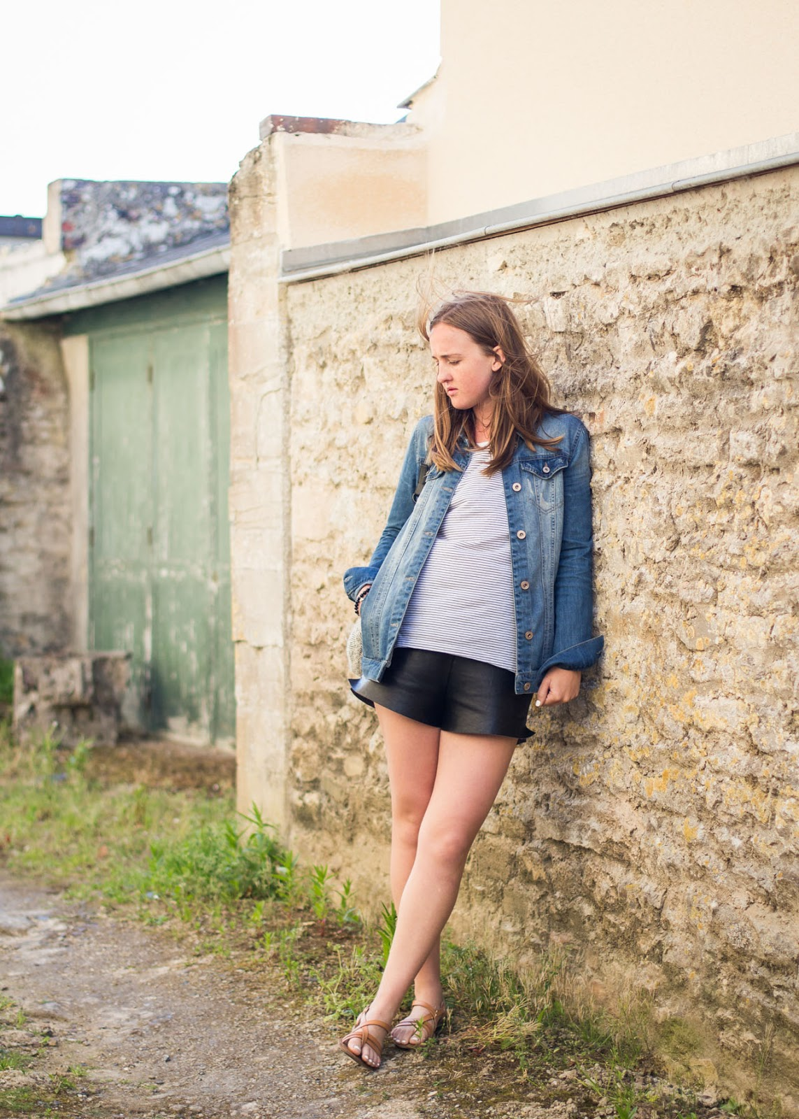new - Only - denim jacket - zara - t-shirt - Vacation Style - France