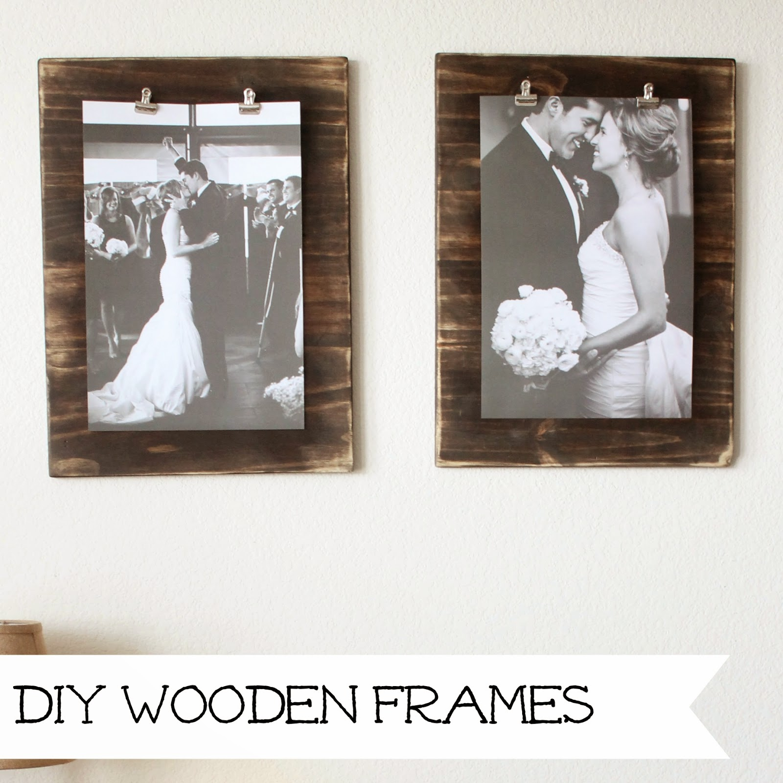 http://wonderfullymadebyleslie.blogspot.com/2014/04/diy-wooden-frames.html