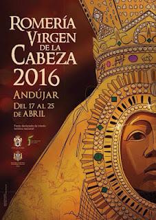 Cartel Romería Virgen de la Cabeza de Andújar año 2.016