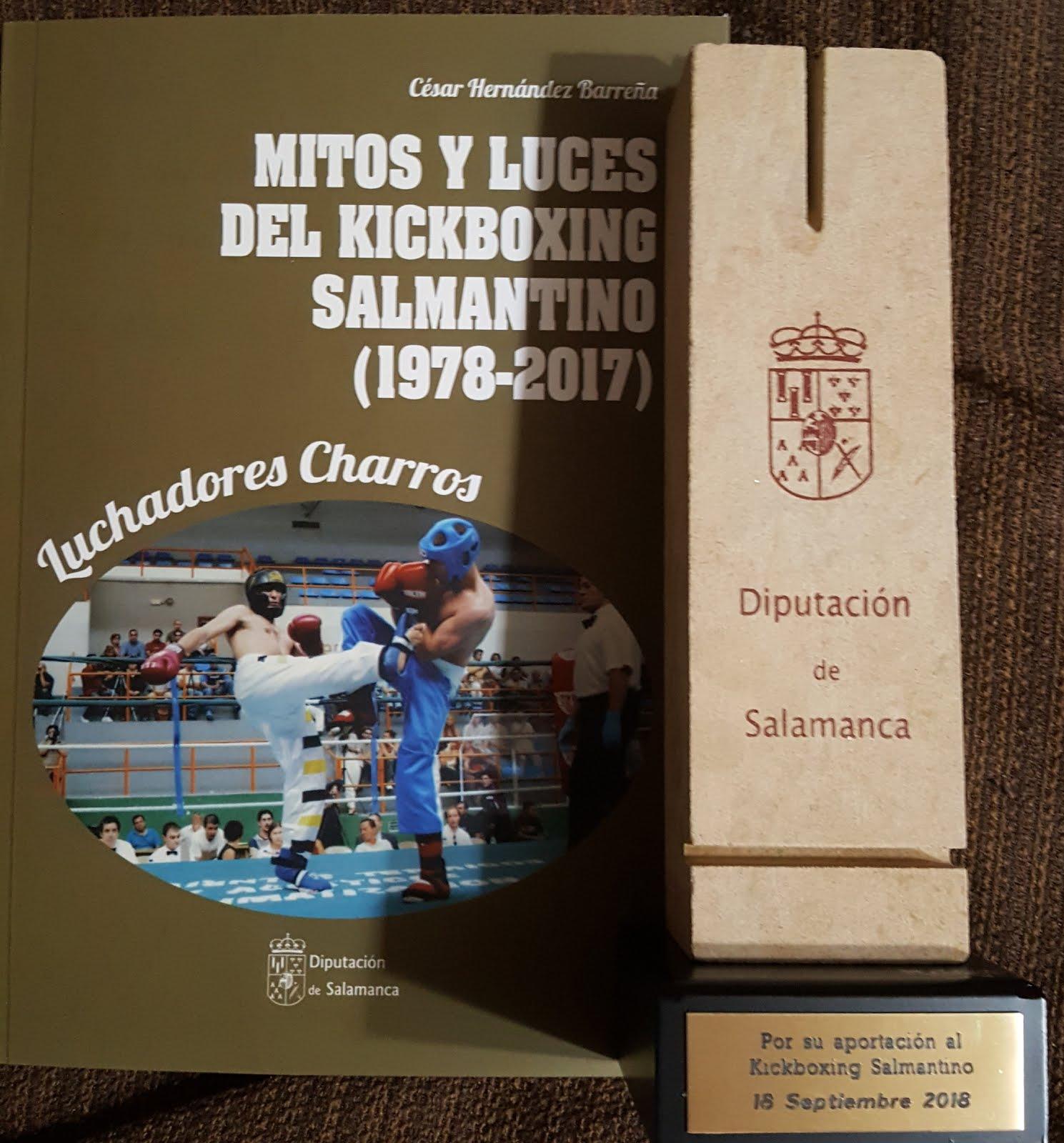 Obsequio por la aportacion al Kick Boxing Sep 2018