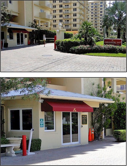 On Wednesday 9 24 A New Awning Was Installed By Delray The Guard House Color And Logo Match Our Ambassadors East Sign