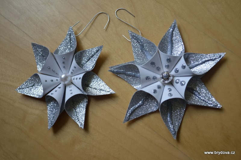 paper star ornament handy diy