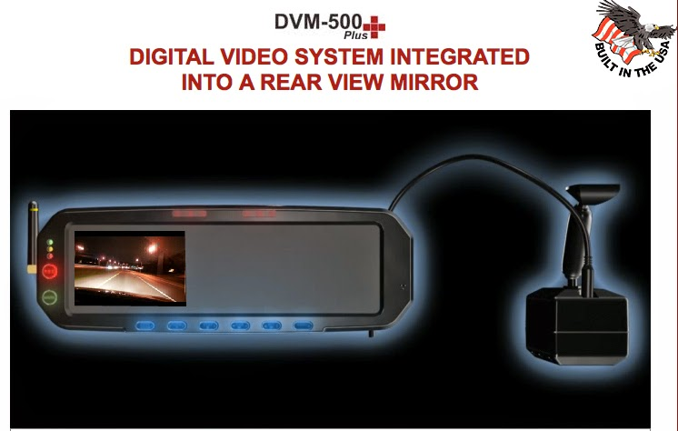 Digital Video System Integrated into a Rear View Mirror