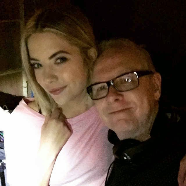 PLL BTS Ashley Benson and Norman Buckley