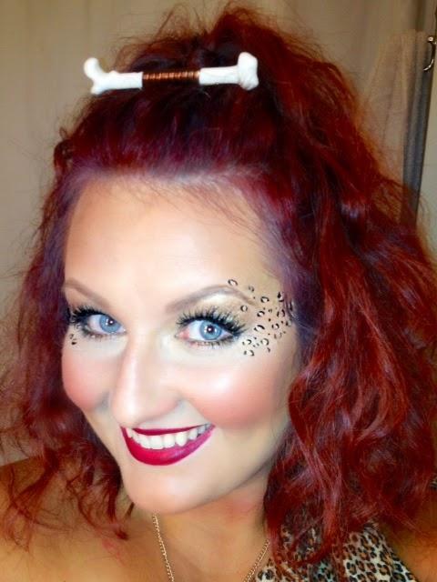 Lovely Dalliances: Cavegirl Costume Hair and Makeup