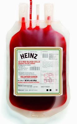 Донорская кровь хайнц