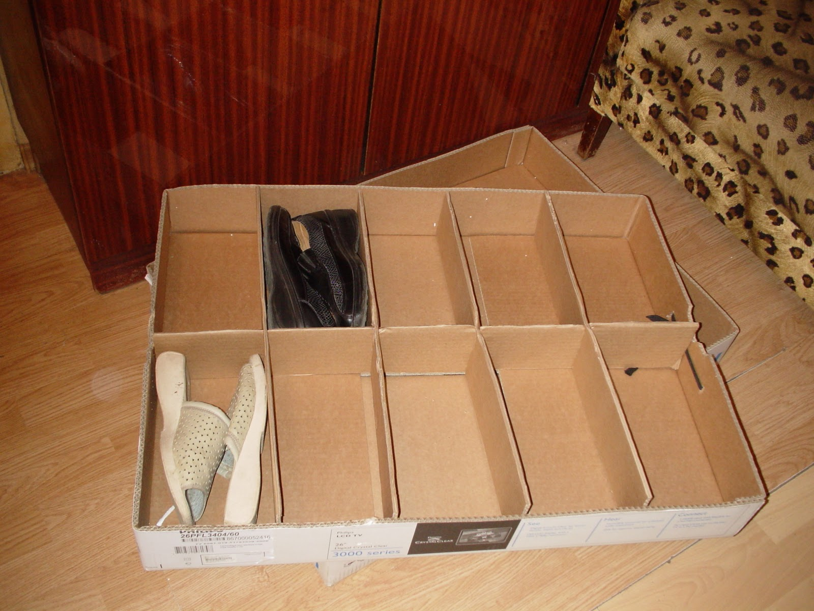 Ящик для обуви своими руками