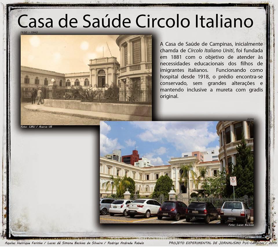 Casa de Saúde Circolo Italiano - Campinas
