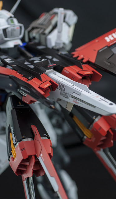 PG Aile Strike Gundam by ghost the modeler