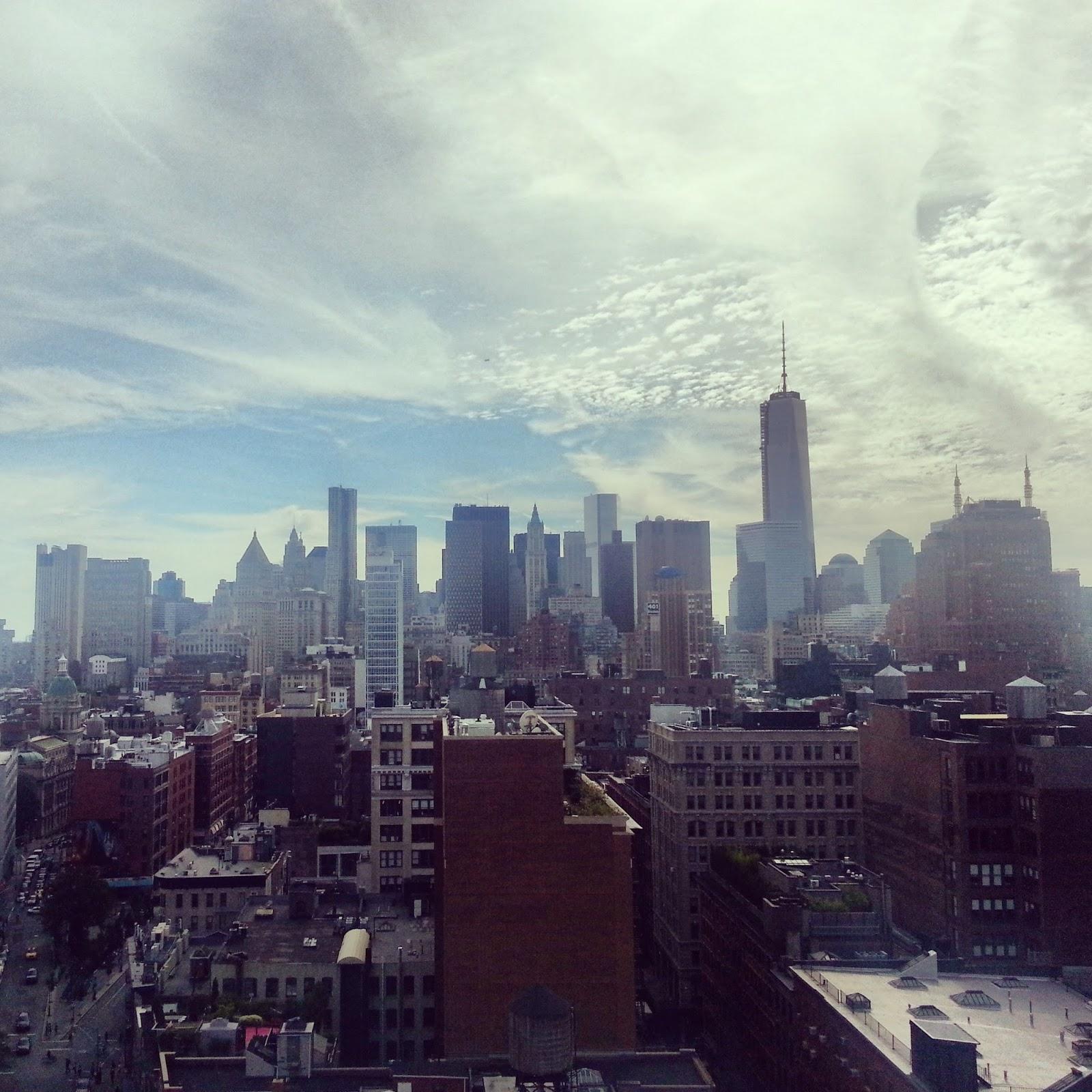 Soho - Downton NYC Skyline  |  One year later on *sparklingly  |  http://sparklingly.blogspot.com