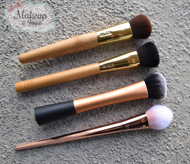 Dense Buffing Foundation Brushes Review