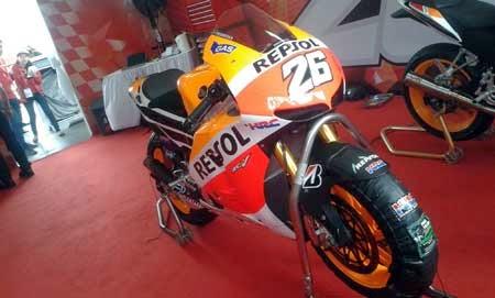 Honda RC213V Dani pedrosa di Sentul