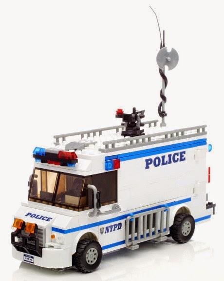 Juguetes mega bloks world builders 97851 centro de comando m vil del departamento de polic a - Oficina del policia ...