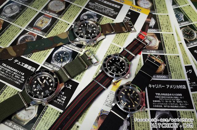 Rolex  Seiko Nato ของแท้ มีขายที่ WatchKzy.com