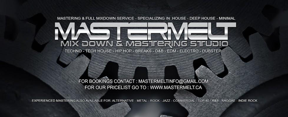 MASTERMELT Audio Mastering Mixdown Service Studio